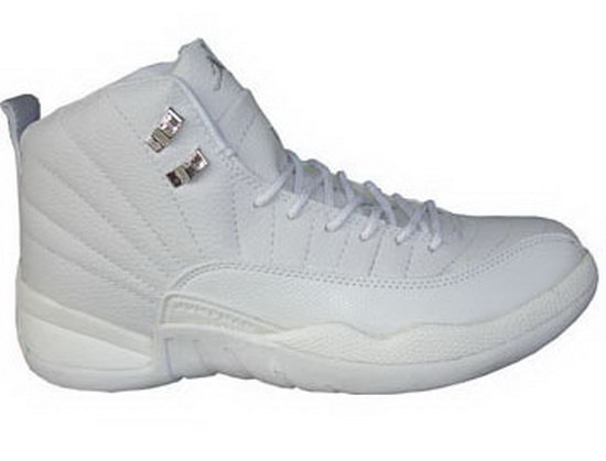 Air Jordan Retro 12 All White Reduced